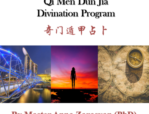 Qi Men Dun Jia Destiny Oracle Training with Master Dr. Anna Zarasyan – Apr. 2-6, 2020